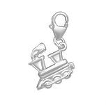 C567-C00009 - 925 Sterling Silver Train Charm