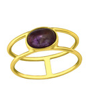 C799-C36170 - 925 Sterling Silver Amethyst Ring