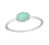 Sterling Silver Amazonite ring online store South Africa