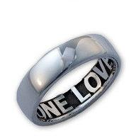 N111 - Sterling Silver Mens Personalized Ring