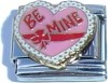 CL124 - Be Mine, Italian Charm (Thicker Chip, Imported Brand)