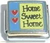 CL121-CGC4149 - Home Sweet Home, Italian Charm (Thicker Chip)