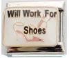 E032 - Will work for shoes, Italian Charm