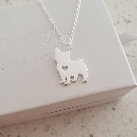 C876-C29883 - 925 Sterling Silver Dog Necklace