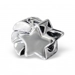 C42-10523 - Sterling Silver Shooting Star European Bead Charm