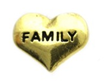 FLC204 - Family Heart, Floating Locket Charm