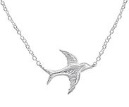 C759-C18462 - 925 Sterling Silver Bird Necklace