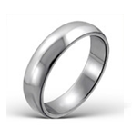 C547-C14329 - Men's High Polish Stainless Steel Ring 5mm