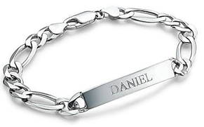 Men's personalized sterling silver bracelet online shop south africa