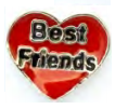 LL-11 - Best Friends Floating Charm for Locket