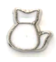 LA-05 - Cat Floating Charm for Locket Necklace