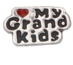 FLC177 - Love my Grandkids Floating Locket Charm