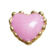 FLC205 - Pink Heart, Floating Locket Charm