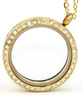 Buy Gold floating locket necklace online shop in South Africa