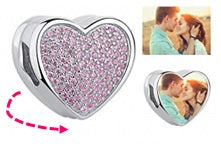 CAS101955 - 925 Sterling Silver Personalized Photo Charm