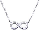 sterling silver infinity necklace online jewelry store in South Africa