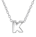 C618-C24303 - 925 Sterling Silver A-Z Any Initial Letter Necklace