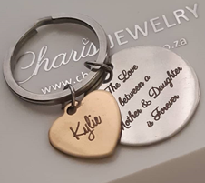 buy personalized keyrings online store in South Africa