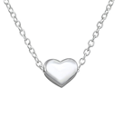 C168-C17452 - 925 Sterling Silver Small Heart Necklace