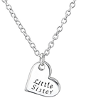 C507-C35374 -  925 Sterling Silver Little Sister Necklace