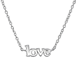 C699-C35272 - 925 Sterling Silver Love Necklace