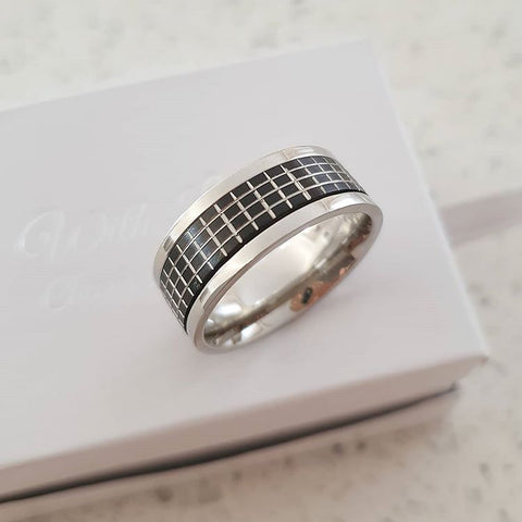 C1029-C5098 - Men's Stainless Steel Band Ring
