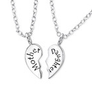 Mother Daughter sterling silver necklace buy online South Africa