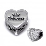 C64 -C10414 - Sterling Silver Princess, Sparkle Gift European Bead