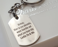personalized dog tag gift keyring online jewelry store