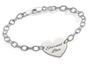 N299 - 925 Sterling Silver Personalized Bracelet