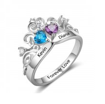 Personalized Crown Tiara ring online store in South Africa