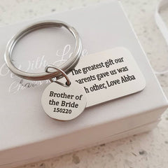 Personalized keyrings online shop in South Africa