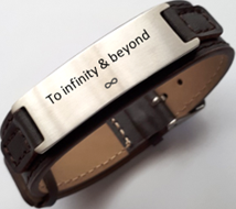 Personalized engraved leather strap in South Africa