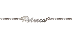 NN100 - 925 Sterling Silver Personalized Name Bracelet