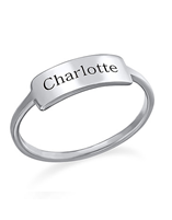 Custom personalized name ring online shop in South Africa