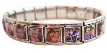 13MM Larger Links Photo Bracelet