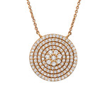 C379-C33115 - Rose Gold CZ Necklace