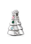 C619-C29560 - 925 Sterling Silver Christmas Tree European Bead Charm