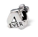 B134 - C4455 - 925 Sterling Silver 4 Ever European Bead Charm