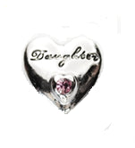 12SC1-002 - Small Daughter Heart Snap, fits any Small Snap Button Jewelry