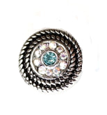 12SC1-009 - Small Pattern Snap Charm, fits any Small Snap Button Jewelry
