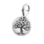 C995-C10368 - 925 Sterling Silver Tree Charm Dangle