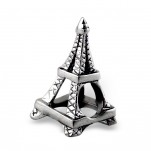 C45-C2869 - 925 Sterling Silver Eiffel Tower European Bead Charm
