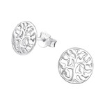 Silver Tree of life earings in South Africa