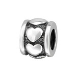 C1146-C11103 - 925 Sterling Silver Cross European Charm Bead