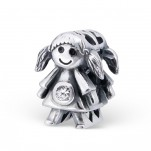 C38-C9520 - 925 Sterling Silver Girl Daughter European Bead