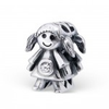 Girl european charm bead, can also fit on a pandora bracelet
