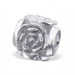 C75-C10749 - 925 Sterling Silver Rose European Charm