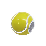 C1063-C11049 - 925 Sterling Silver Tennis Ball European Charm Bead