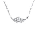 C1125-C19123- 925 Sterling Silver Wing Necklace